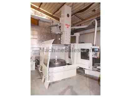 1994 O-M OMEGA 60 CNC VERTICAL TURNING & BORING CENTER  Under Power! In