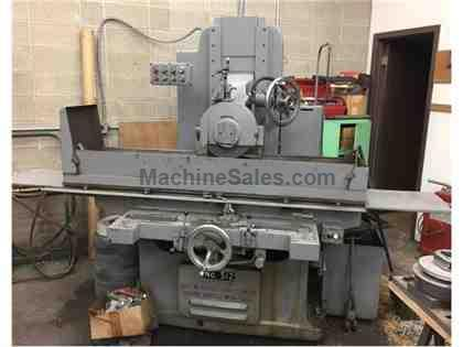 G&L Hyd Reciprocating Horizontal Surface Grinder Model 512