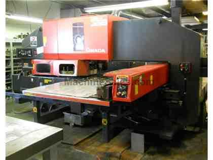 2000 Amada Vipros 3610 LS Punch Press & Shear Combo (Punching Cell)