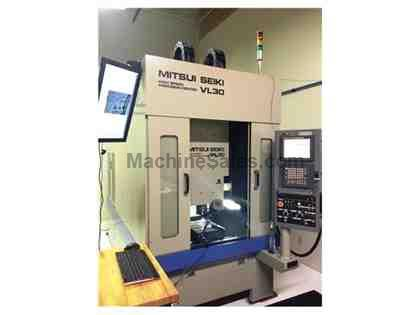 MITSUI SEIKI VL-30 3-AXIS CNC LINEAR MOTOR DRIVEN MACHINING CENTER