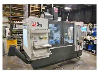HAAS VF3SS, 2014, 1300 SPINDLE HOURS, 4TH READY