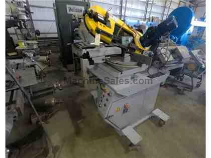"7-7/8"" x 11"" FMB Calipso Horizontal Band Saw, Under Power"