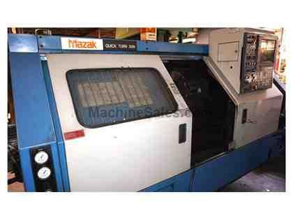 Mazak Quick Turn 30 CNC LATHE, Year 1992