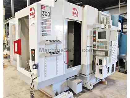HAAS EC-300, 2004, FULL 4TH, TSC, 12,000 RPM, 2200 HOURS OF USE