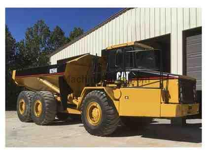 1999 CATERPILLAR D250E BACK DUMP