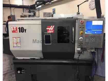 2014 Haas ST-10Y CNC Turning Center