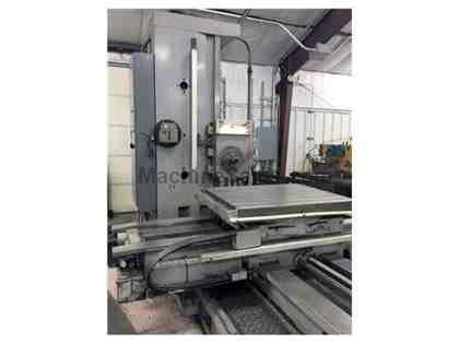 "Kuraki KBT-1003W 4"" Table Type Horizontal Boring Mill"