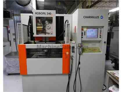 Charmilles Robofil 240cc, New in 2004, 13,511 Machining Hours
