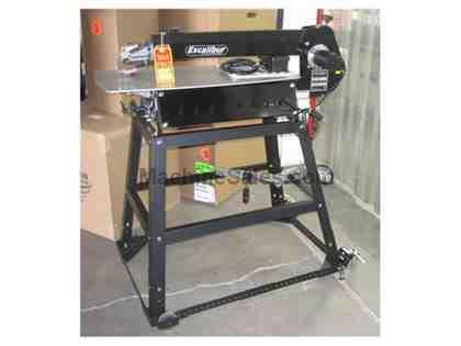 "Scroll Saw 30"" w/MblBs&Lite Ex"