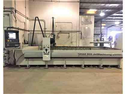 "OMAX 80X, 89"" TABLE WIDTH, 180"" TABLE LENGTH, NEW: 2013"