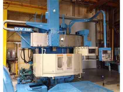 1998 O-M Vertical Turning Lathe Model VT5-12N with Fanuc 18T CNC Control