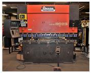 "Amada HFB-8025 88 Ton x 100"" 4-Axis Down-Acting CNC Press Brake"