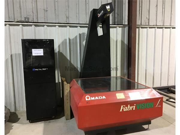 AMADA FABRIVISION #FVL-HD-4848 LASER INSPECTION MACHINE
