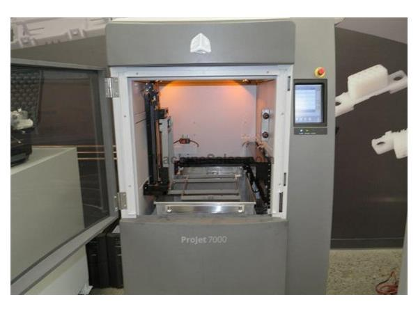ProJet 7000 HD (2016) Stereo Lithography Build Envelope Capacity inches (mm
