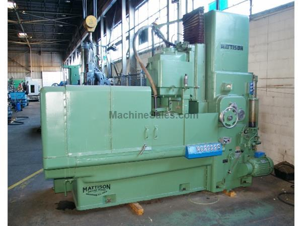 "54"" MATTISON ROTARY SURFACE GRINDER MODEL 48"