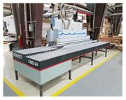 Used BRANDT KDN-520 Optimat Automatic Edgebander with Doucet CMS-24-G Return Conveyor