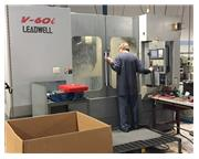 2006 Leadwell Model V-60 Vertical Machining Center - 4th Axis - Fanuc Oi-MB