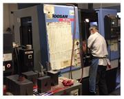 2007 DOOSAN DAEWOO DMV 3016L Vertical Machining Center Fanuc 0iM-C Control
