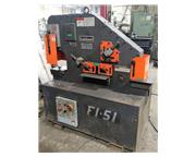 Scotchman 51 Ton F1-5109-14M Hydraulic Iron Worker