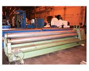"3/16"" x 14' Roundo 3-Roll Double Pinch Plate Roll"