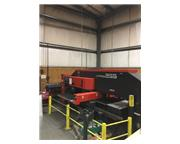 22 TON AMADA VIPROS 255 HYDRAULIC CNC TURRET PUNCH PRESS