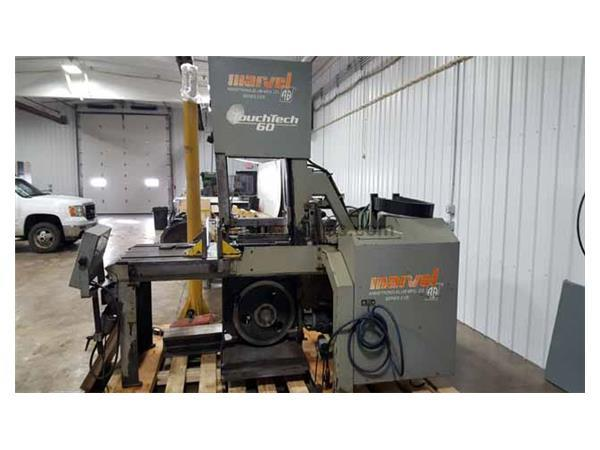 Marvel Series 2125TS Programmable Vertical Band Saw