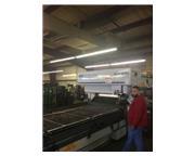 2000 WATT NTC TLV-510E20 HYBRID CO2 LASER,FANUC TURBO,FANUC 16-il CNC,MFG:2