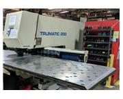 Trumpf TC-200R CNC Punch And Contouring Machine