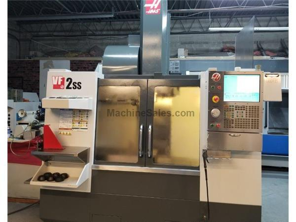 "HAAS VF-2SS,30""X,16""Y,20""Z,12,000-RPM,4TH-PRE-WIRE,CAT-40,HA"