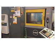 """1"""" x 30"""", Mollart Omnisprint LD2-750 CNC, 2-Spdl, Knee, Fanuc, Hi-Press Clnt,'09"""