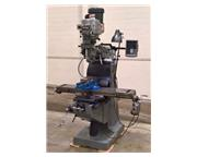 "Acra AM2V, 9"" x 49"" Table, 30""X, 12-1/2""Y, 16""Z, 3HP, 4,200 RPM,"