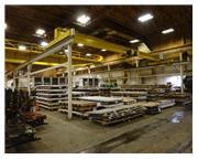 Free-Standing Bridge Crane System. 4.5 Ton Capacity