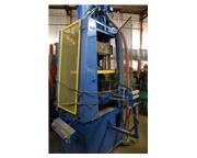 15 Ton TISHKEN #ACO-15, 4-Post Pneumatic Cut-Off Press