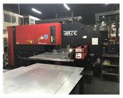 33 Ton AMADA APELIO III 357V,1500 WATT, DUE FOR NEW TURBO BLOWER,MFG:1997