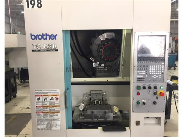 2012 Brother TC-R2B Drilling & Tapping Center with 180 degree Table 4-