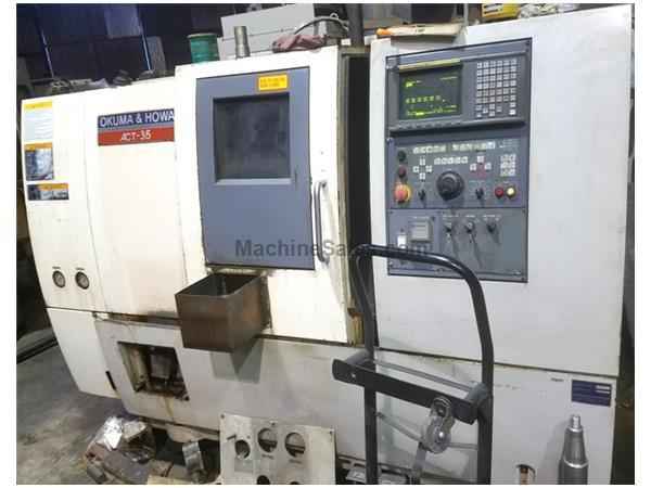 1995 Okuma & Howa ACT-35 With Fanuc 18T CNC Control & All Options