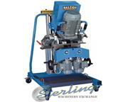 """No. CM-50DS Baileigh , 2"""" width, gear reduction system, 3.9 FPM, 5.25 HP cutting, new"""