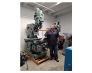 """Mighty Comet # 3HV , universal power milling, 12-1/2"""" x 52"""", side control, work"""