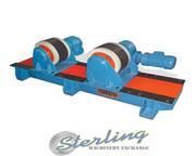 22000 lb. Baileigh # RWP-110 , welding rotator, dual drive wheels, AC inverter driven, .75