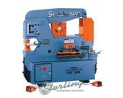 "3"" x 3"" x 3/8"" Scotchman # DO-135/220-24M , ironworker, 135 ton, dual opera"