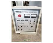 Hansvedt # CS-1 Workman/201, 20 amp ram style EDM, floor standing, operators manual, used,