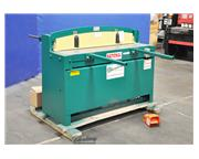 12 ga. x 4' National # NH5212 , hydraulic, double acting cylinders, ROMBG, 3 HP, new, #SMN