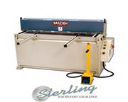 14 ga. x 4.4' Baileigh # SH-5214 , hydraulic, high carbon, foot pedal, back & side gauges,