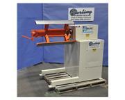 "6000 lb. Dallas # DCR-6000x24RH , payoff coil reel, 24"", air brake, manual adjustment"