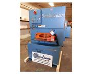 "Scotchman # Shear-Master-610 , 24"" heavy duty flat bar shear, 4-way reversible blades"
