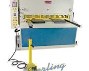 """1/4"""" x 4.4' Baileigh # SH-5203-HD-NC , NC BG, adjustable rake, 16-24 SPM, 15 HP, new,"""