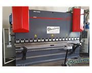 242 Ton, JMT # JMR-12242D , 12' OA, hydraulic, Delem DA52 2D graphic control, 3-Axis CNC,