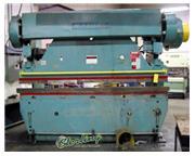 90 Ton, Wysong & Miles # 90-8 , mechanical press brake, 10' OA, power ram adjustment w/ind