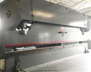 400 Ton, Chicago # 400-D-20 , heavy duty mechanical, 24' OA, air trip clutch, foot pedal,