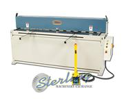 14 ga. x 6' Baileigh # SH-8014 , hydraulic, high carbon, front & back gauges, front suppor